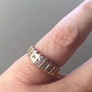 Dainty Cubic Zirconia Ring
